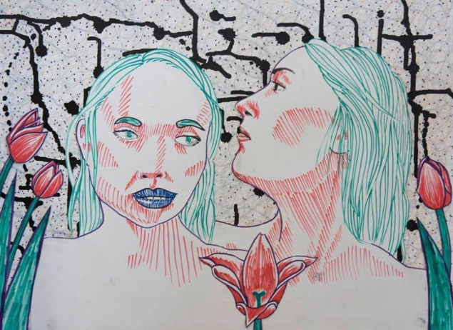 MICHELLE GOLDCHAIN - portrait 4 - wallpaper2