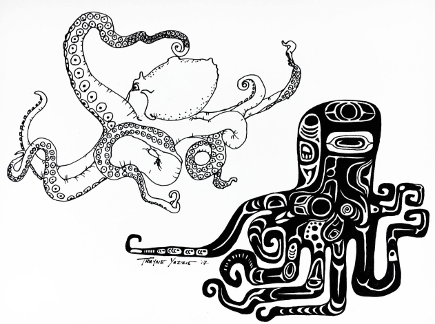 YAZZIE3 - octopus vulgaris - wallpaper2