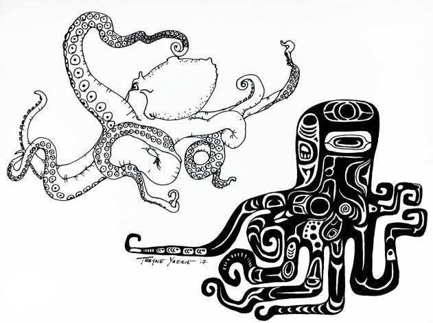 YAZZIE3 - octopus vulgaris - wallpaper2
